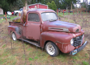 1950 FORD F1 PICKUP, FLAT HEAD V8, MANUAL TRANS LHD