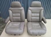 LEATHER SILVERADO  1998  BUCKET SEATS TO SUIT 1973 to 1987 PICKUP/ SUBURBAN