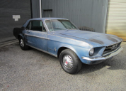 1967 FORD MUSTANG COUPE 289 / AUTO LHD RUNNING PROJECT