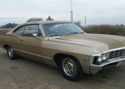 1967 CHEVROLET IMPALA FASTBACK 327 POWERGLIDE  AUTO LHD