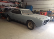 1968 CHEVROLET CAMARO RS SS 350 4 SPEED MANUAL PROJECT