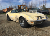 1971 CHEVROLET CORVETTE T TOP 350-AUTO LHD