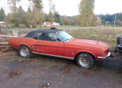 1967 FORD MUSTANG COUPE 289 /AUTO LHD