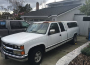 1988 CHEVROLET C1500 EXTRA CAB LONG TUB 350 /AUTO LHD