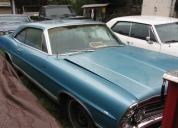 1967 FORD GALAXIE  FASTBACK V8 289 /AUTO / LHD
