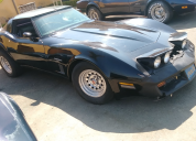 1982 CHEVROLET CORVETTE COLLECTOR EDITION FUEL  INJECTED 350 AUTO LHD