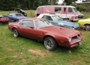 1976 PONTIAC TRANSAM 400/ 4SPEED LHD