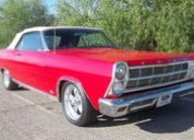 1966 FORD FAIRLANE XL500 CONVERTIBLE 390 / 4 SPEED LHD
