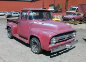 1956 FORD F100 PICKUP V8 289 3 SPEED MANUAL POWER STEER LHD