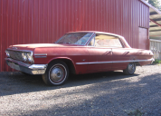 1963 CHEVROLET IMPALA 4 DOOR HT