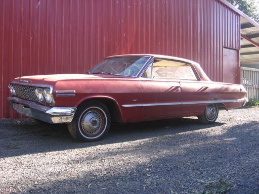1963 chevrolet impala 4 door ht