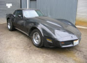 1981 CHEVOLET CORVETTE 350 4 SPEED MANUAL  LHD