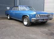1966 CHEVROLET IMPALA 4 DOOR HARD TOP LHD